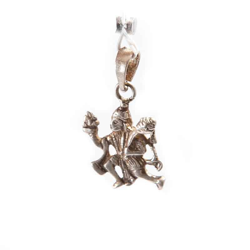 Серебряный кулон «Бог Хануман» (индийское божество)