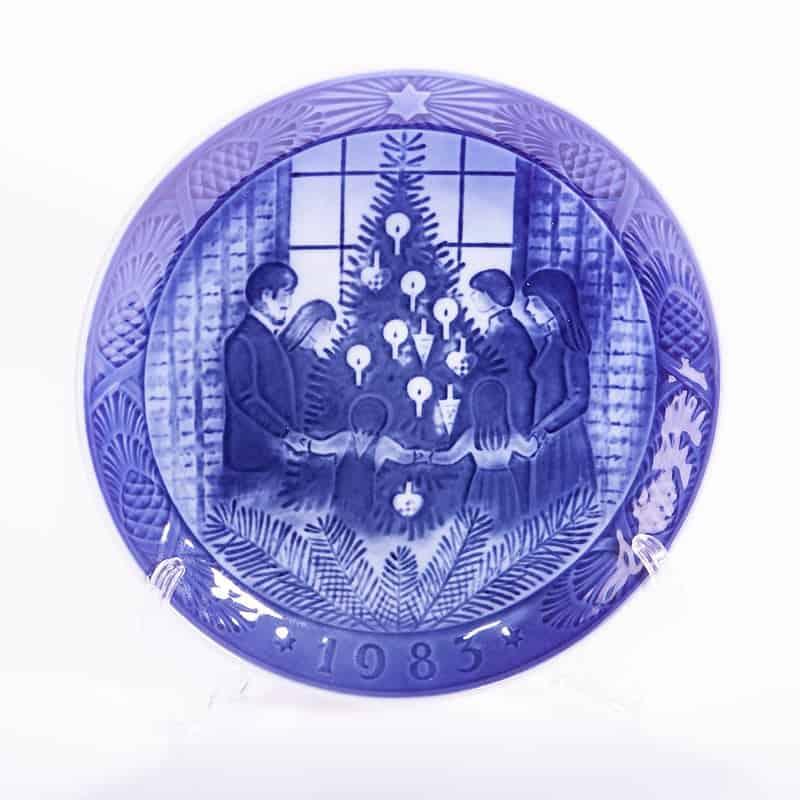 Фарфоровая тарелка «Рождественский хоровод»