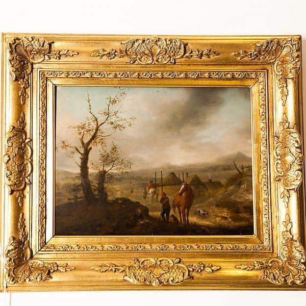 Картина «Сельский пейзаж»