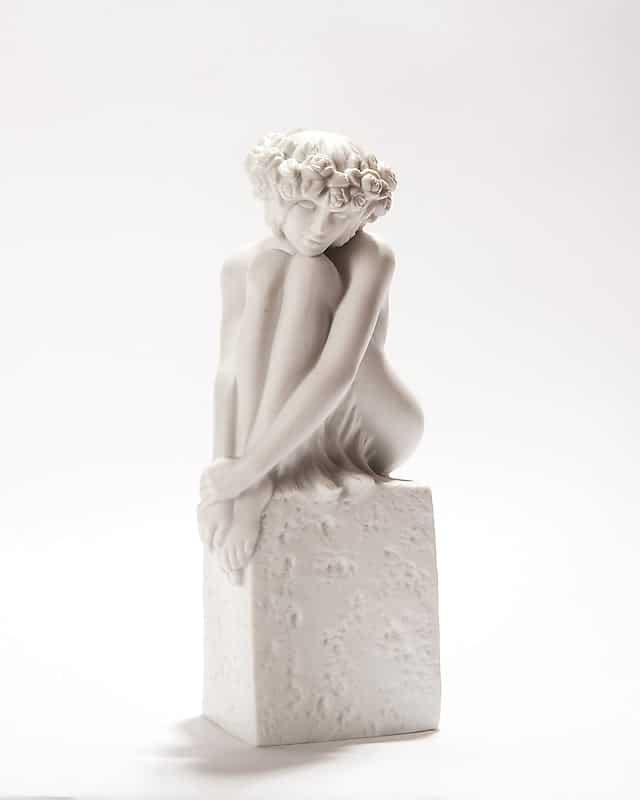 Фарфоровая скульптура «Знаки Зодиака. Дева»