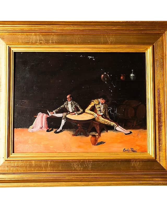 Картина «Уставшие матадоры»