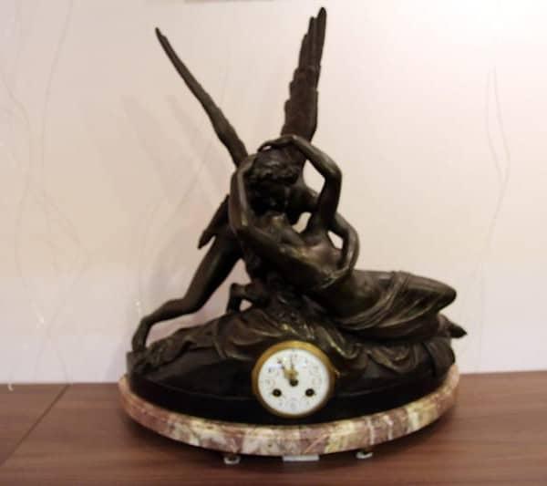 Каминные часы «Амур и Психея»