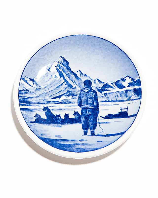 Декоративная тарелочка «Гренландские пейзажи»