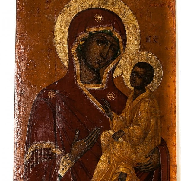 Икона «Тихвинская Богоматерь»
