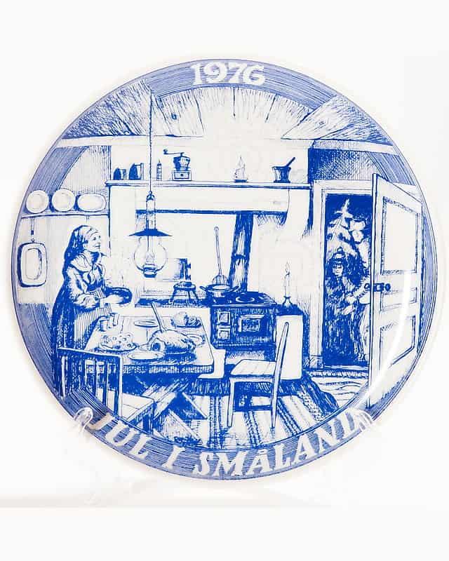 Декоративная тарелка «Рождественский стол»