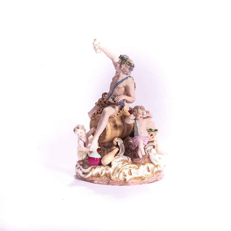 Фарфоровая статуэтка «Бахус»