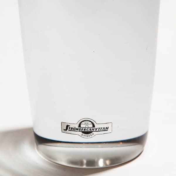 Стеклянная ваза-капсула