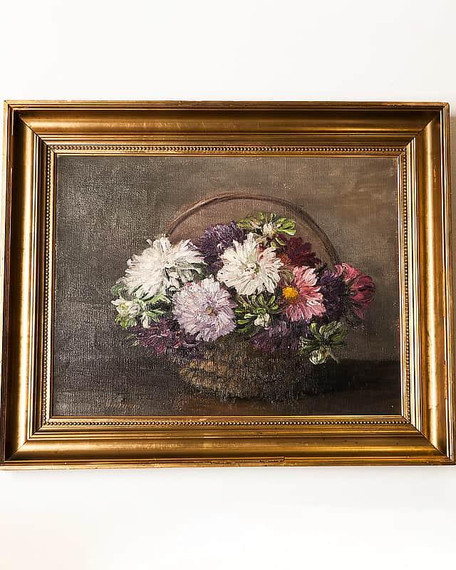 Картина «Корзина сцветами»
