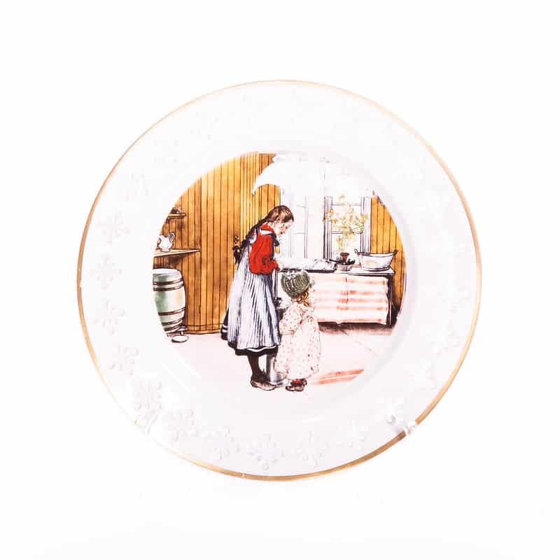 Тарелка фарфоровая «Кухня»