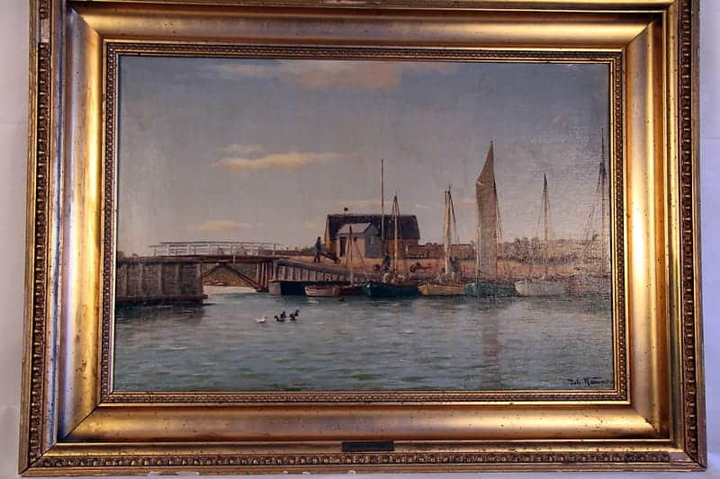 Картина «Старый порт в Гиллелее»