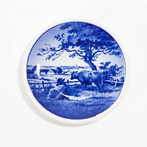 Декоративная тарелка «Коровы»