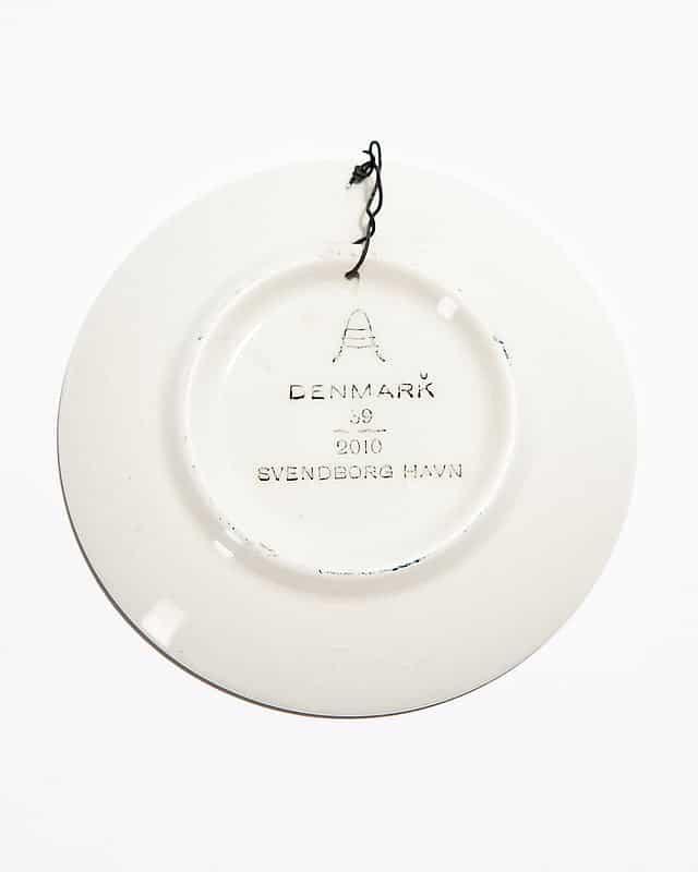 Декоративная тарелочка «Гавань Свендборга»
