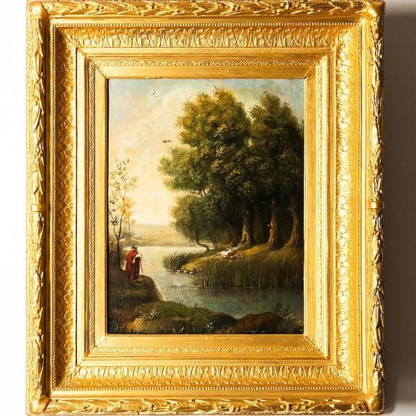 Картина «Пастух скозами»