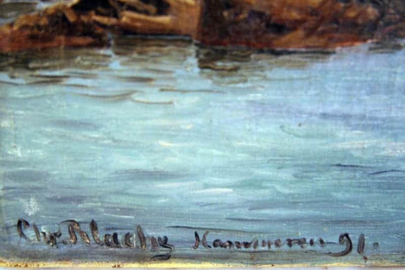 Картина «Вид на Хаммерен, Борнхольм»