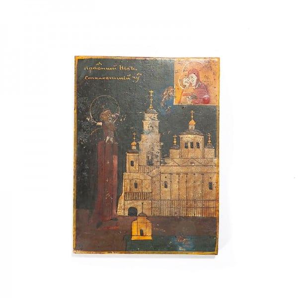 Образ «Преподобный Нил Столобенский»