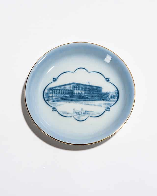 Декоративная тарелочка «Биржевой дворец»