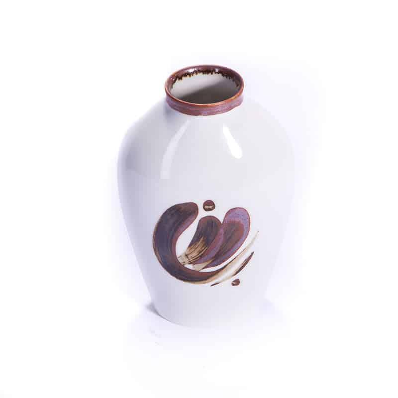 Фарфорофая ваза «Орнамент»