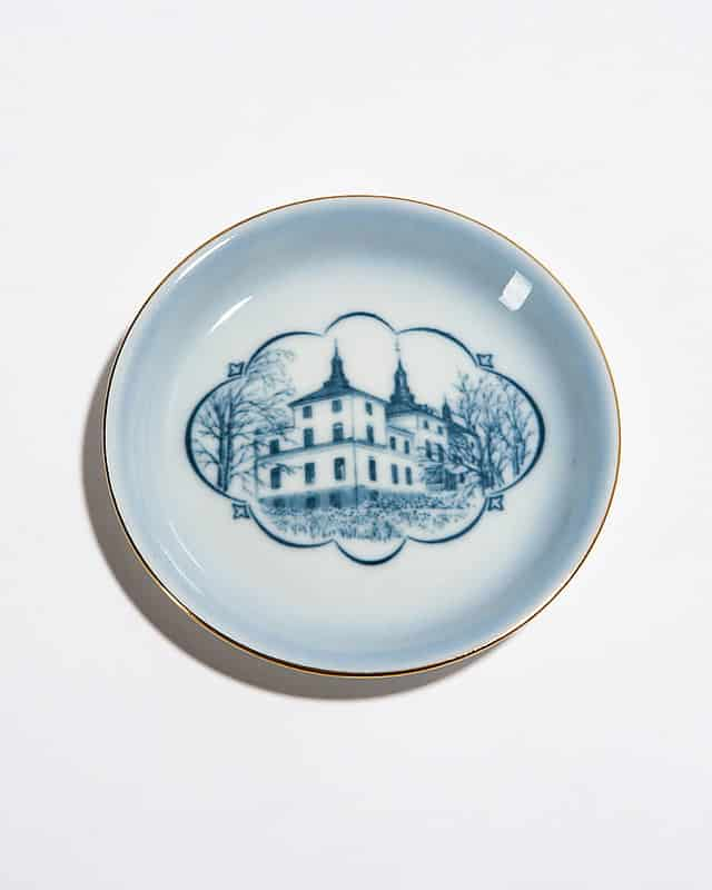 Декоративная тарелочка «Каменный замок»