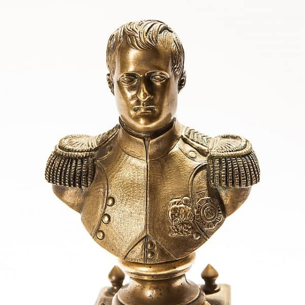 Бронзовый бюст «Наполеон»