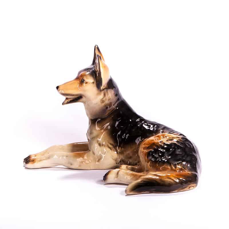 Фарфоровая статуэтка «Немецкая овчарка»