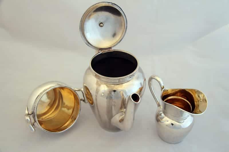 Набор серебряный кофейный