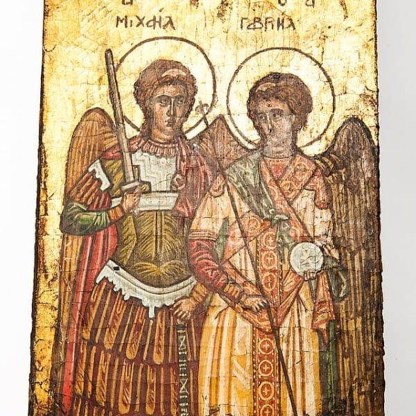 Икона «Архангелы Михаил и Гавриил»