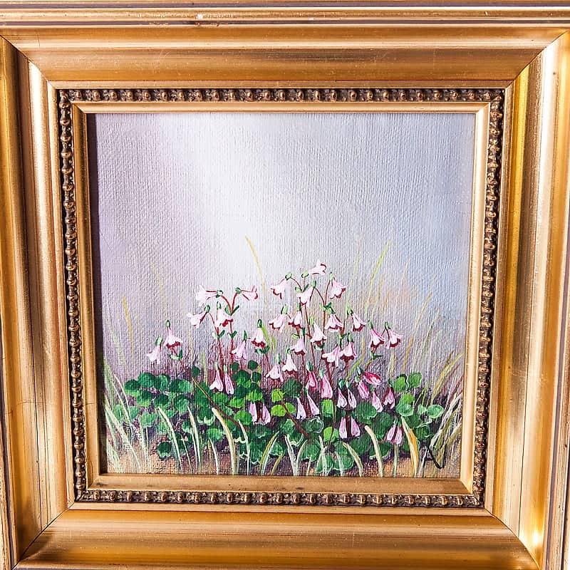 Картина маслом «Кислица»