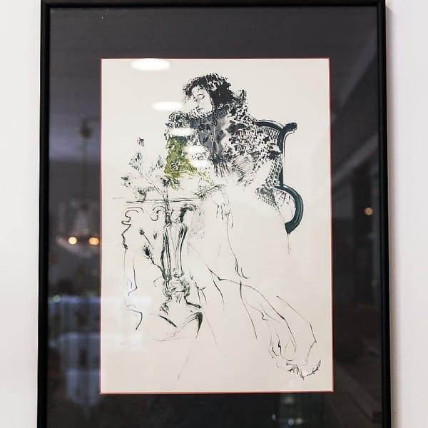 Графическая картина «Портрет Пушкина»