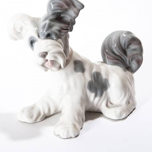 Фарфоровая собака «Скотч-терьер»