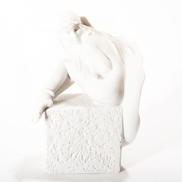 Фарфоровая скульптура «Знаки Зодиака. Рыбы»