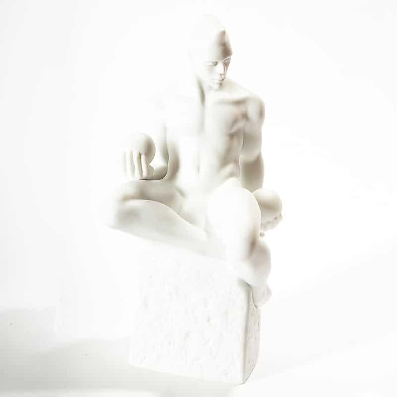 Фарфоровая скульптура «Знаки Зодиака. Весы»