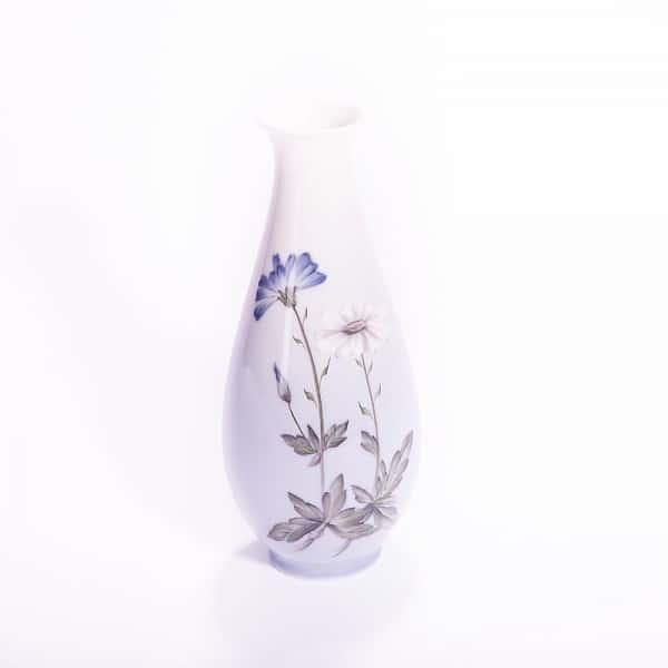 Фарфоровая ваза «Василёк и Ромашка»