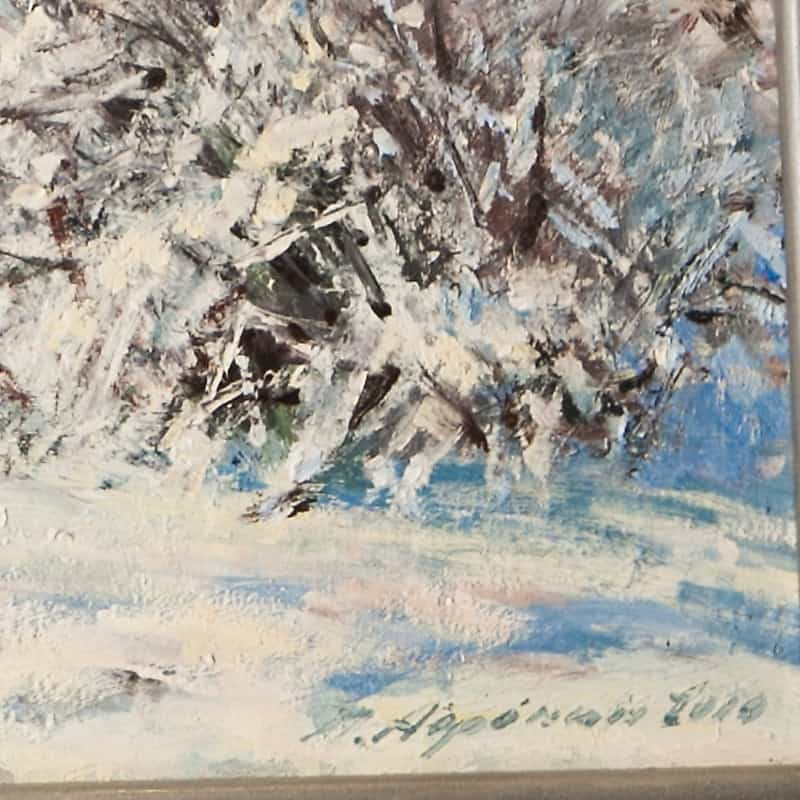 Картина «Сибирская зима»