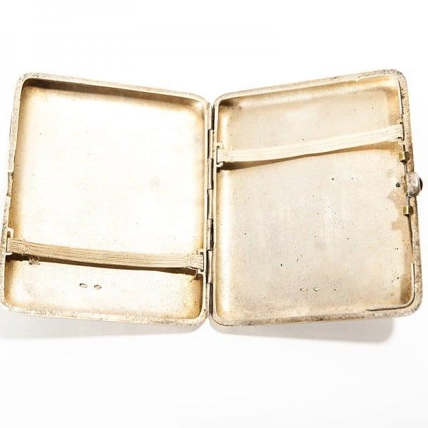 Серебряный портсигар «Кремль»