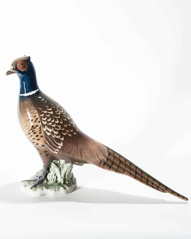 Фарфоровая птица «Фазан»