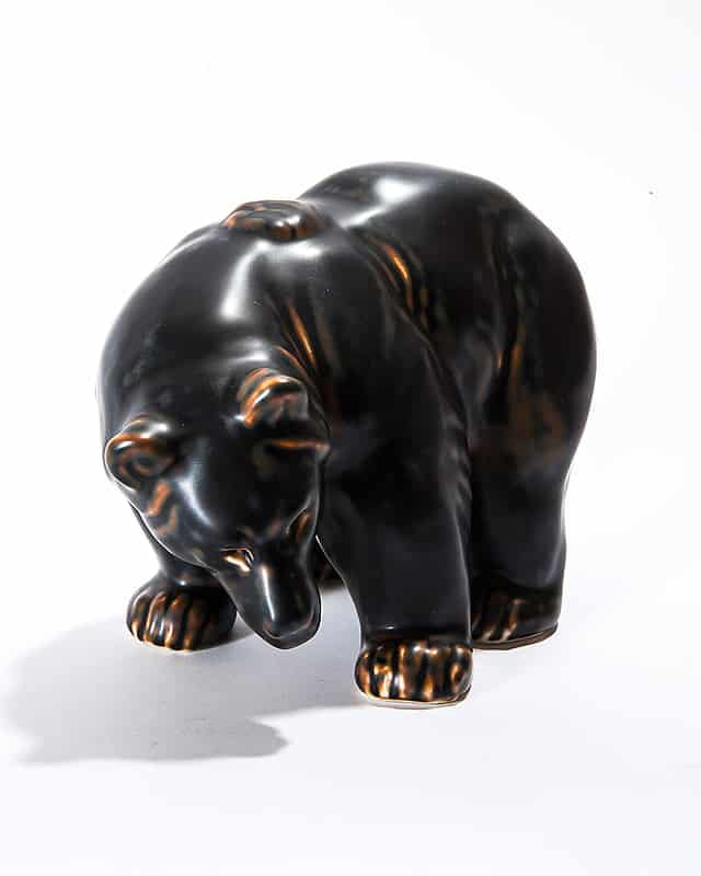 Фарфоровый «Бурый медведь»