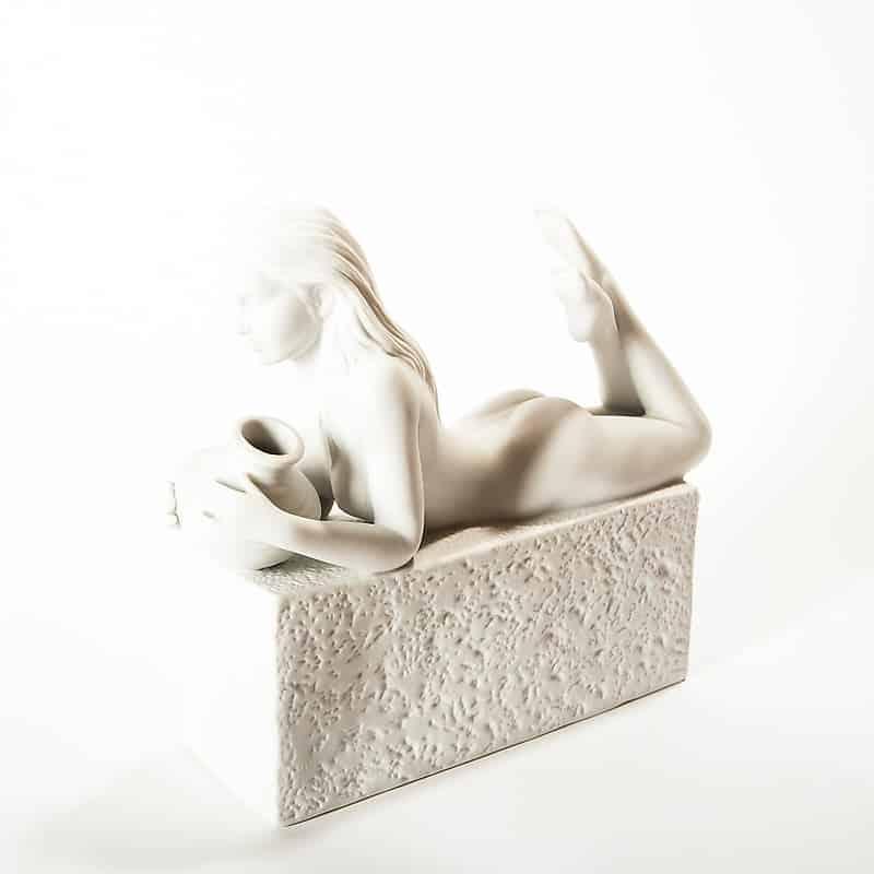 Фарфоровая скульптура «Знаки Зодиака. Водолей»