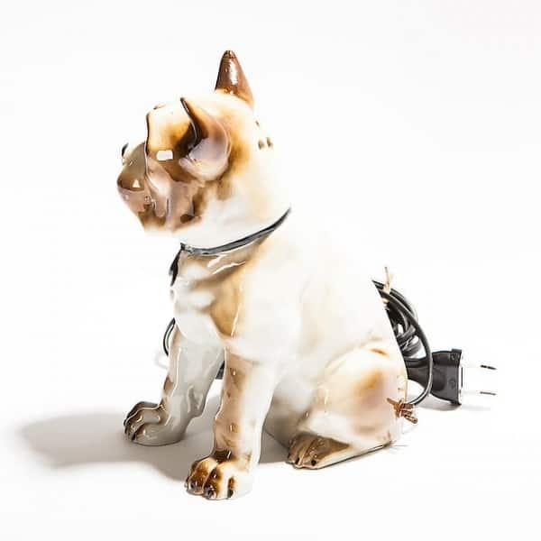 Фарфоровый ночник «Собака»