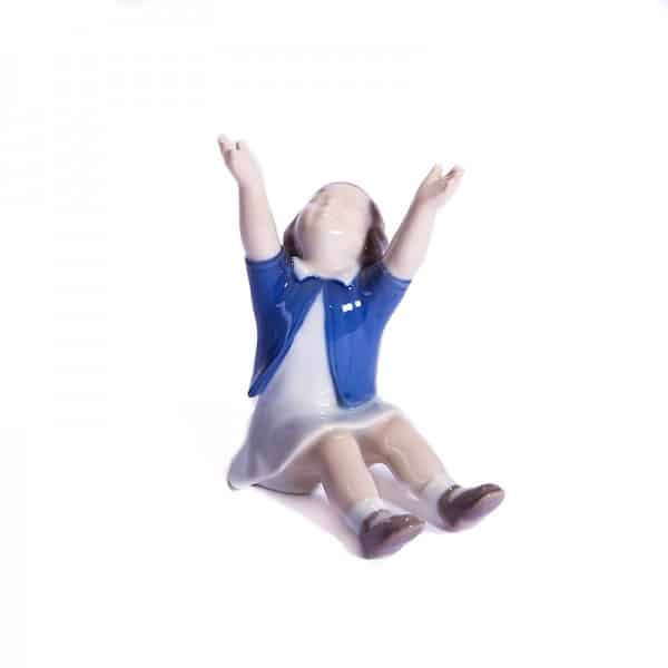 Фарфоровая статуэтка «Возьми на ручки»