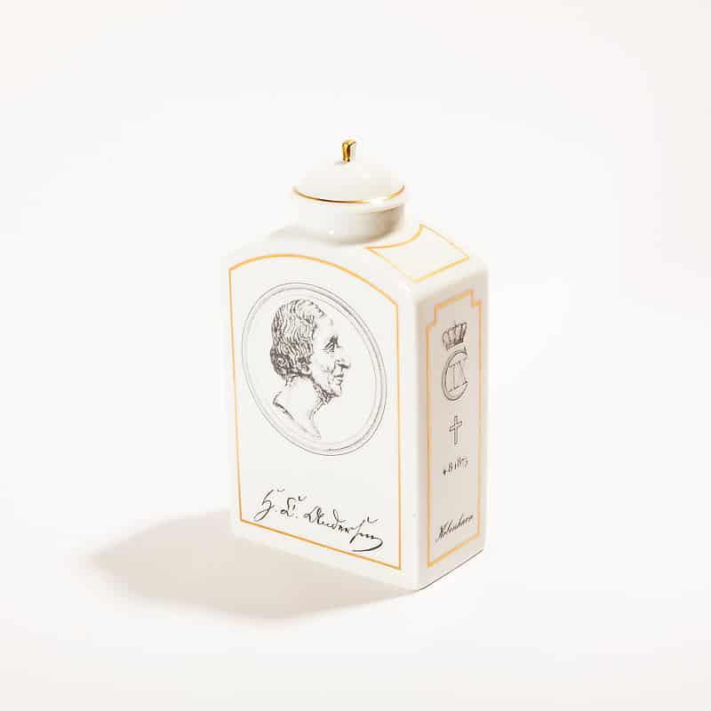 Фарфоровый штоф с крышкой ограниченной серии «Ганс Христиан Андерсен»
