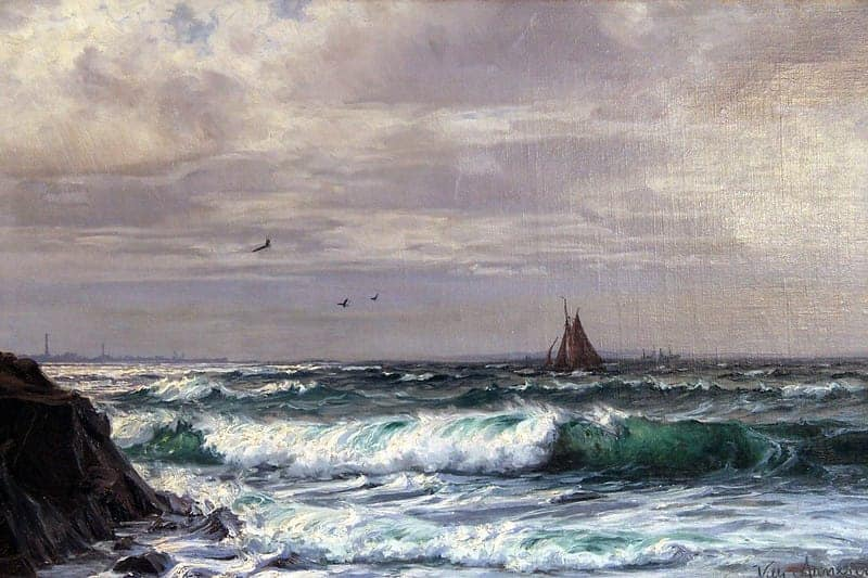 Картина «Лодка у Куллена»
