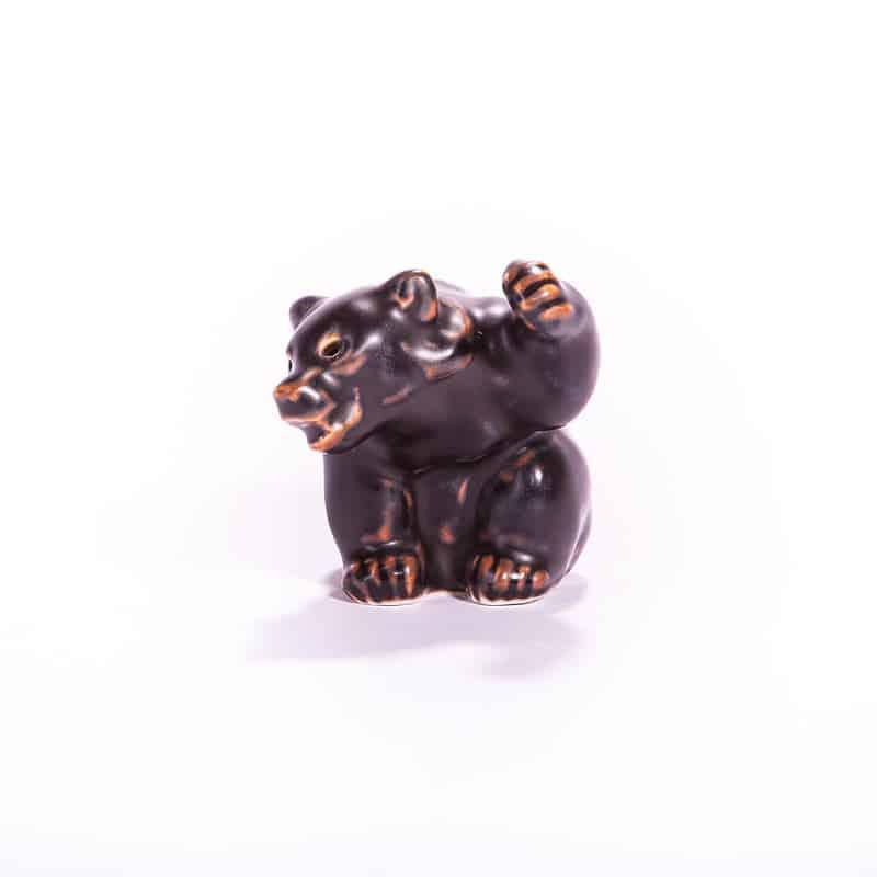 Фарфоровая статуэтка «Бурый медведь»