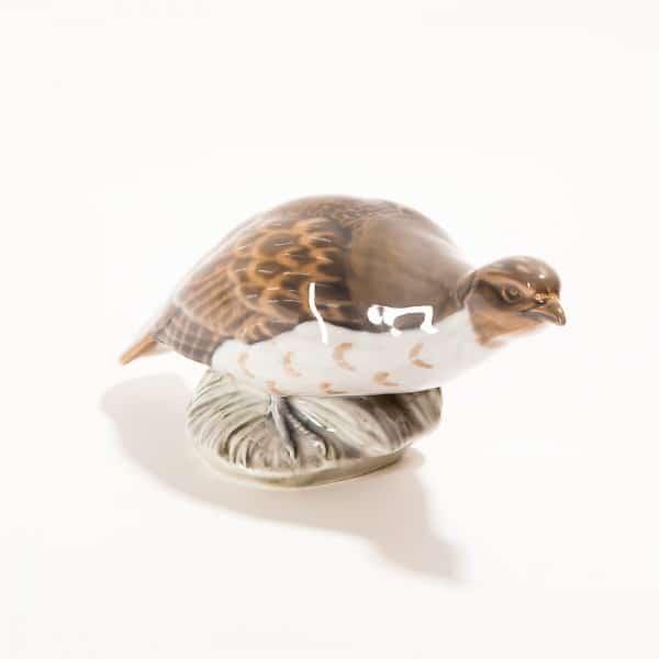 Фарфоровая модель птицы «Куропатка»