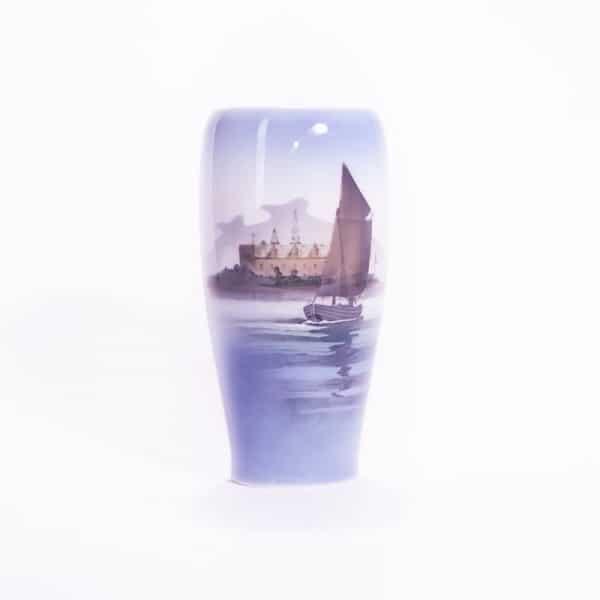Фарфоровая ваза «Морской пейзаж»