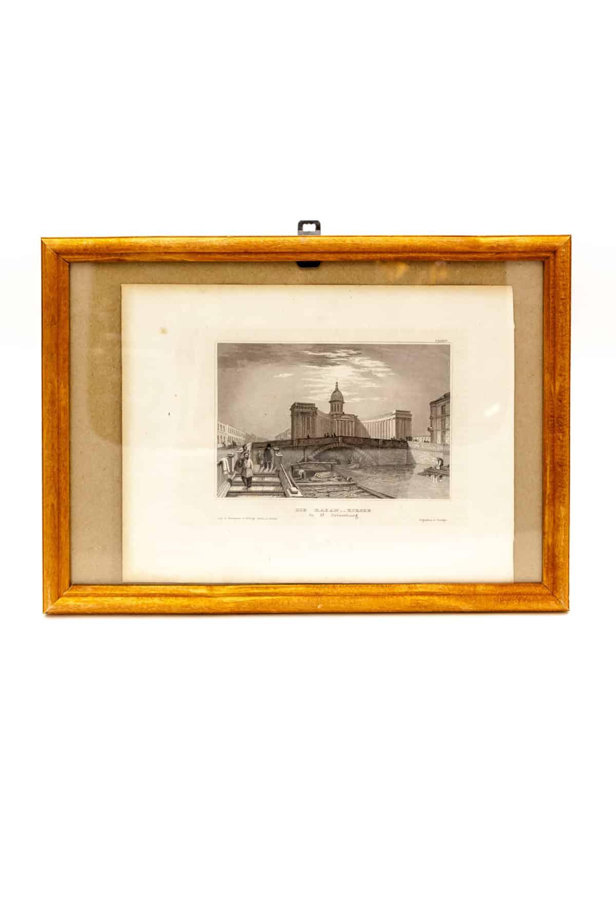 litografiya kazanskij sobor