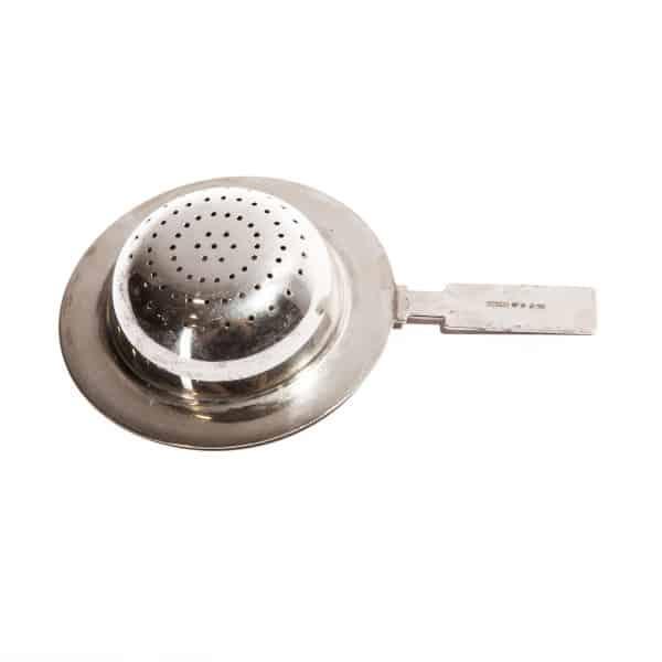 Ситечко для чая серебряное