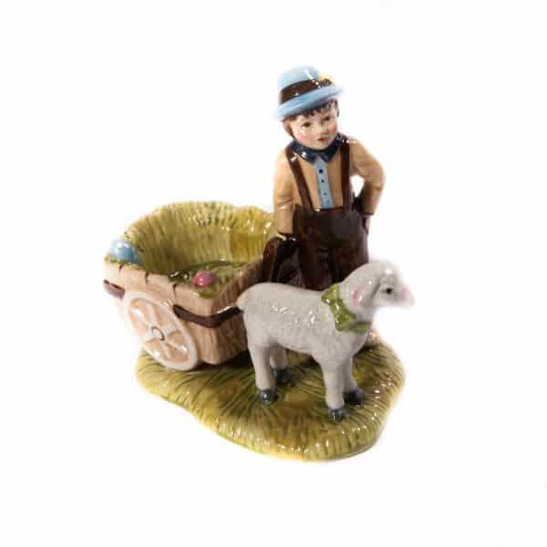 Мальчик с овечкой