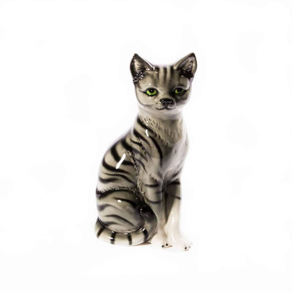 """Фарфоровая статуэтка """"Кошка"""""""