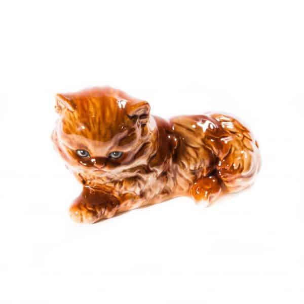 """Фарфоровая статуэтка """"Персидская кошка"""""""