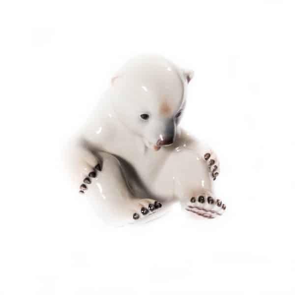 """Фарфоровый """"Белый медведь"""""""